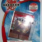 BAKUGAN CARD SLEEVES w/ FOIL CARD
