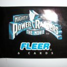 MIGHTY MORPHING POWER RANGER: THE MOVIE Trading Card Pack