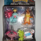 POKEMON CHIMECHO/ BUZIEL/ WORMADAM 3 pack Action Figures