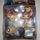 POKEMON AIPON/ FEEBAS/ WORMADAM 3 pack Action Figures