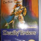 NINTENDO VINTAGE NES DEADLY TOWERS Game