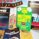 NINTENDO VINTAGE NES MANUALS/ BOOK Lot