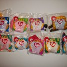 McDONALD'S 1996 TEENIE BEANIE BABIES LOT