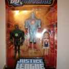 DC UNIVERSE 2008 3 PACK: GREEN LANTERN/ CAPT. ATOM/ SUPERGIRL Action Figures