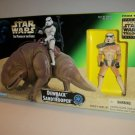 STAR WARS 1997 POWER of the FORCE DEWBACK & SANDTROOPER