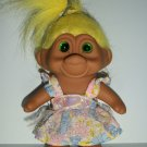 "TN'T ""PASTEL DRESS"" TROLL DOLL"