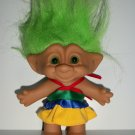 "TREASURE TROLL ""DISCO DRESS"" TROLL DOLL"