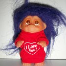 "DAM/ NORFIN 1985 ""I LOVE YOU"" TROLL DOLL"