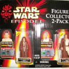 STAR WARS EPISODE 1 ANAKIN/ OBI-WAN 2 PACK Action Figures