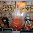 STAR WARS 2003 CLONE WARS ANAKIN/TROOPER 2-Pack