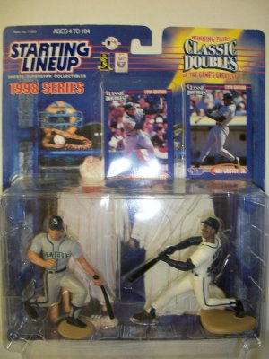 STARTING LINEUP 1998 EDITION KEN GRIFFEY JR. and ALEX RODRIGUEZ