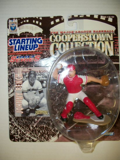 STARTING LINEUP 1997 COOPERSTOWN JOHNNY BENCH Figure