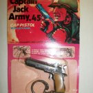 VINTAGE CAPTAIN JACK ARMY .45 CAP PISTOL