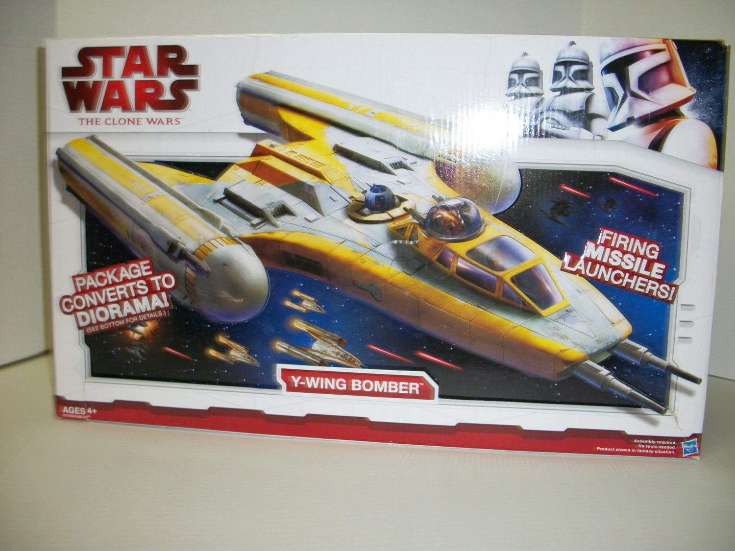 STAR WARS Y-WING BOMBER Vehicle