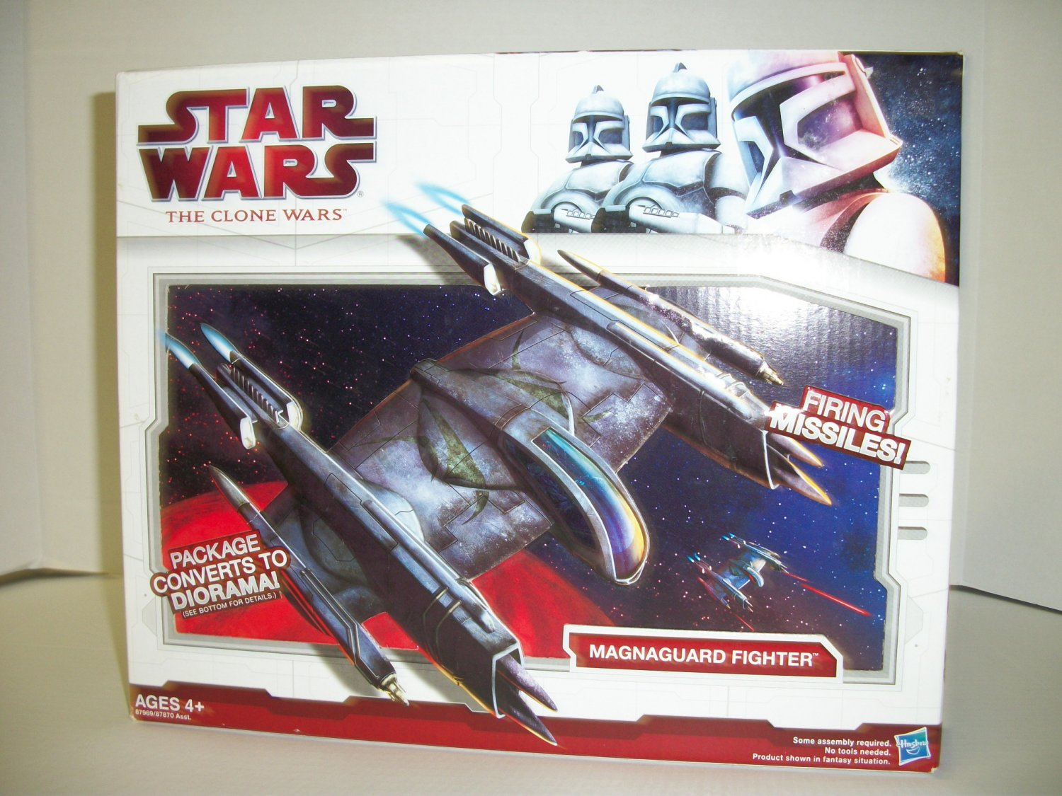 STAR WARS MAGNAGUARD FIGHTER Vehicle