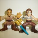 "STAR WARS GALACTIC HEROES ""MASTER & APPRENTICE"" Lot"