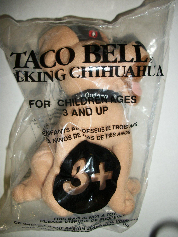 """TACO BELL """"Viva Gorditas"""" TALKING CHIHUAHUA Doll"""