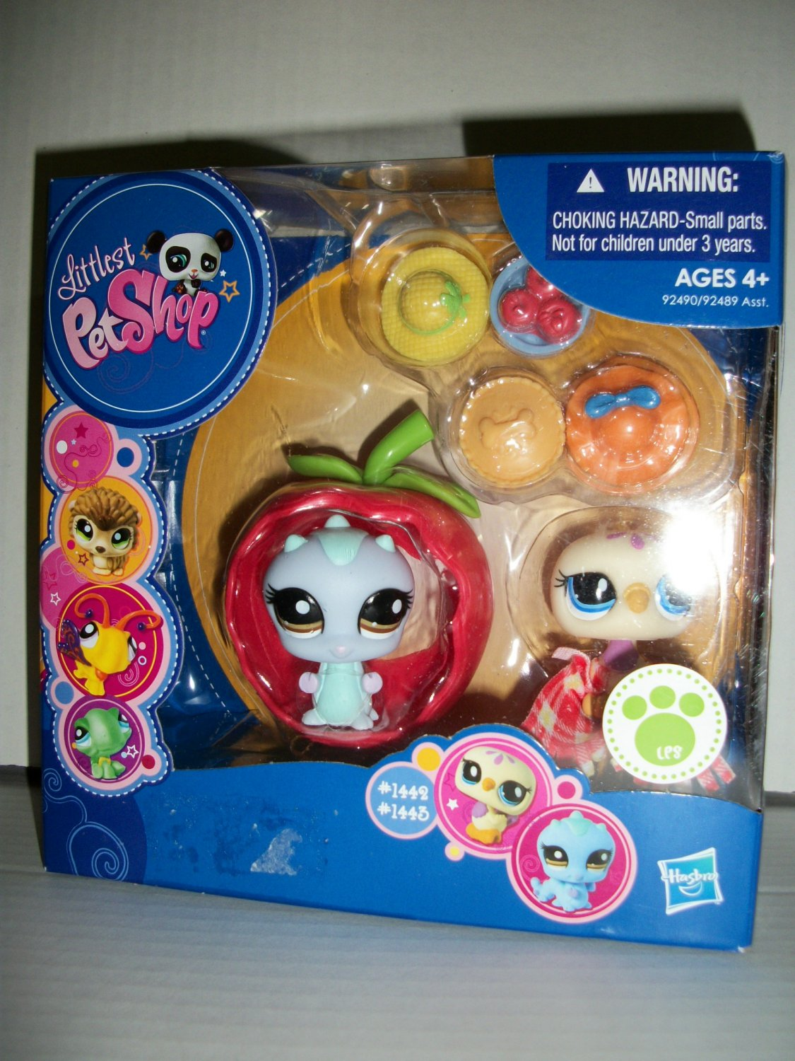 "LITTLEST PET SHOP 2009 ""APPLE "" PETS Set"