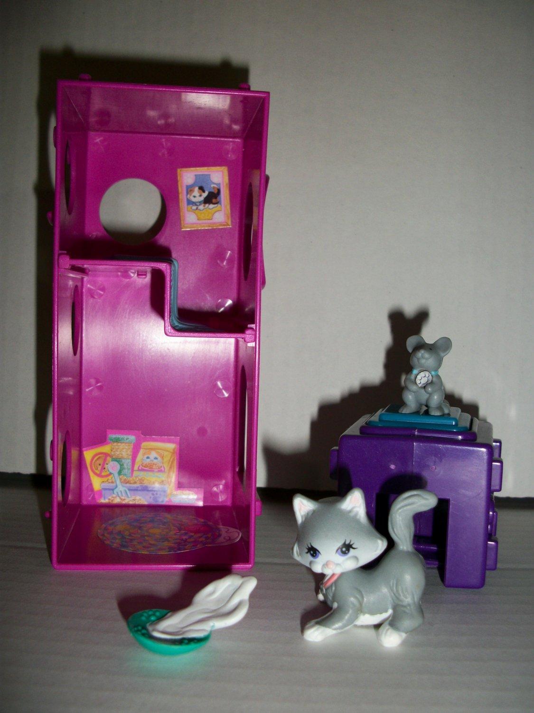 VINTAGE LITTLEST PET SHOP 1994 PURRY KITTENS Set