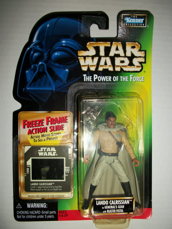 STAR WARS 1997 GENERAL LANDO (FF) Action Figure