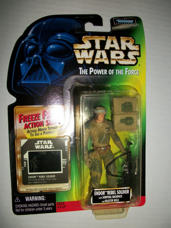 STAR WARS 1997 ENDOR REBEL (FF) Action Figure