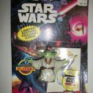STAR WARS BEND-EMS YODA w/ card Figure
