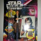 STAR WARS BEND-EMS HAN SOLO w/ card Figure