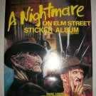 NIGHTMARE ON ELM STREET 1984 Sticker Album + Stickers