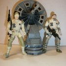 STAR WARS HOTH REBEL TURRET Action Figure Set
