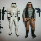 "STAR WARS ""BLUE COLLAR BOYS"" Action Figure lot of 2"
