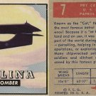 "TOPPS 1952 ""WINGS""  #7 PBY CATALINA Trading Card"