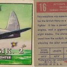 """TOPPS 1952 """"WINGS""""  #16 WYVERN MK. 2 Trading Card"""
