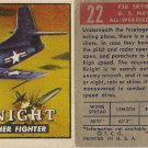 "TOPPS 1952 ""WINGS""  #22  F3D SKYNIGHT Trading Card"