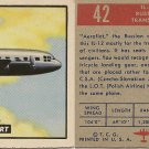 "TOPPS 1952 ""WINGS""  #42 IL-22 Trading Card"