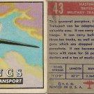 "TOPPS 1952 ""WINGS""  #43 HASTINGS Trading Card"