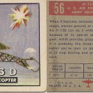 "TOPPS 1952 ""WINGS""  #56 H-13D Trading Card"