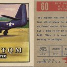 "TOPPS 1952 ""WINGS""  #60 FH-1 PHANTOM Trading Card"
