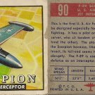 "TOPPS 1952 ""WINGS""  #90 F-89 SCORPION Trading Card"