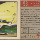 "TOPPS 1952 ""WINGS""  #93 H-12 Trading Card"