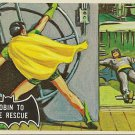 "TOPPS 1966 BATMAN #20 ""ROBIN TO THE RESCUE"" Trading Card"