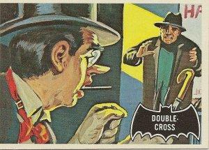 "TOPPS 1966 BATMAN #22 ""DOUBLE-CROSS"" Trading Card"