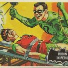 "TOPPS 1966 BATMAN #42 ""ROBIN IN PERIL"" Trading Card"