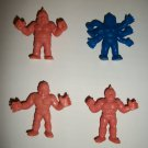 M.U.S.C.L.E. FIGURES LOT of 4 (A)