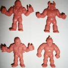 M.U.S.C.L.E. FIGURES LOT of 4 (E)