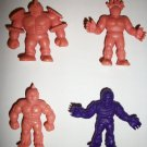 M.U.S.C.L.E. FIGURES LOT of 4 (F)