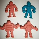M.U.S.C.L.E. FIGURES LOT of 4 (G)