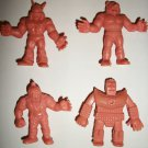 M.U.S.C.L.E. FIGURES LOT of 4 (L)
