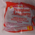 McDonalds Happy Meal Disneyland Adventures Brer Bear on Splash Mountain toy*