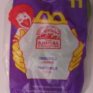 McDonalds Happy Meal Animal Kingdom Crocodile toy*