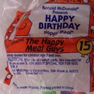 McDonalds Happy Meal Happy Birthday The Happy Meal Guys toy*